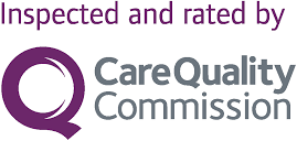 Inspected and rated by the Quality care comission